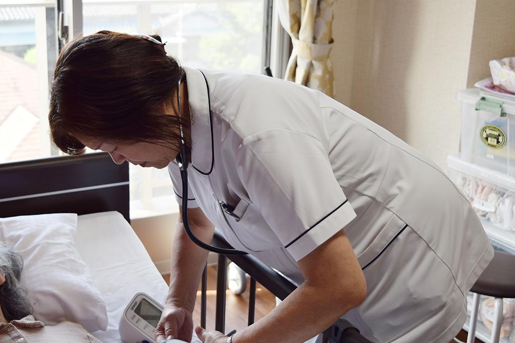 介護付有料の看護職パート